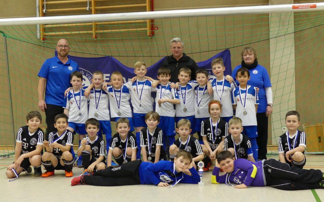 Ergebnisse und Auszeichnungen vom Cup der KB Brandis GmbH (F-Junioren)