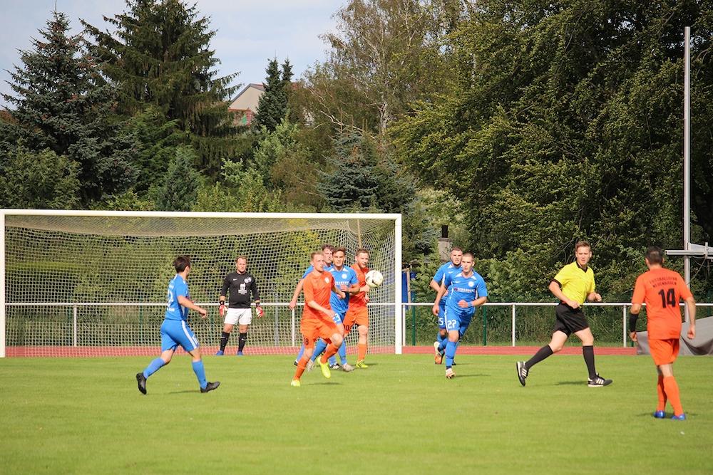 Niederlage beim ersten Heimspiel gegen FC Neuenhagen